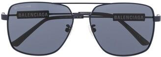 Balenciaga Eyewear BB0116SA aviator sunglasses