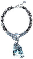 BCBGMAXAZRIA Chain Tie Necklace