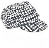 Charter Club Women's Chenille Houndstooth Newsboy Hat