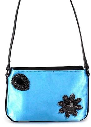 Pinko Canello Light Blue Crossbody Bag