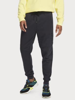 Scotch & Soda Cotton-blend patch pocket sweatpants   Men