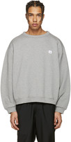 Acne Studios Grey Fint Face Sweatshirt