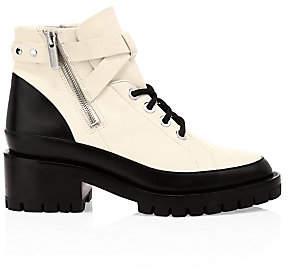 3.1 Phillip Lim Women's Hayett Colorblock Leather Combat Boots