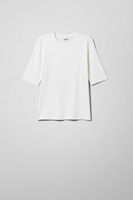Weekday Chie T-Shirt - White