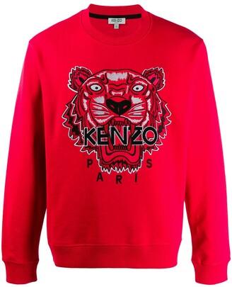 Kenzo embroidered Icon Tiger sweatshirt