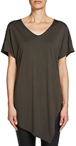 Oui Relaxed Jersey Top, Khaki