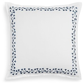 Sky Floral Embroidered Euro Sham - 100% Exclusive