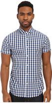 Scotch & Soda Short Sleeve Blue Shirt
