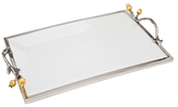 Godinger Blosson Rectangular Large Tray