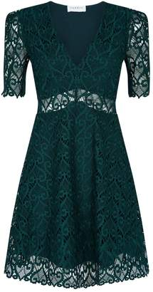 Sandro Lace A-Line Dress