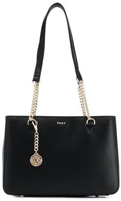 DKNY Bryant textured shoulder bag