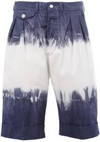 Wooster + Lardini - tie dye shorts - men - Cotton - 46