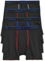 Hanes X-Temp Performance 3-Pk. Boxer Briefs + Bonus Pair, Little Boys (4-7) and Big Boys (8-20)