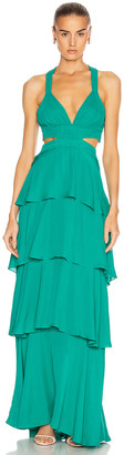 A.L.C. for FWRD Lita Dress in Emerald | FWRD