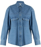 Golden Goose Deluxe Brand Western-yoke denim shirt