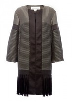 Amanda Wakeley Geometric Jacquard Coat