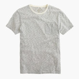 J.Crew Slub cotton textured pocket T-shirt in wavy stripe