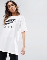 Nike Longline T-Shirt In White