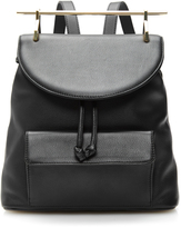 M2Malletier Calf Leather Backpack in Black