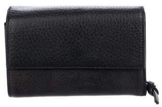 Bottega Veneta Leather French Wallet
