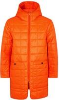 Stutterheim Stureby Orange Quilted Shell Jacket