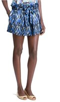 Thakoon Women's Ruffle Ikat Miniskirt Addition Skirt