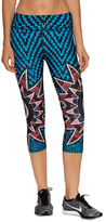 Mara Hoffman Star Basket Print Crop Legging