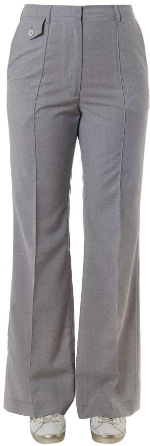 Golden Goose Light Grey Cotton Trousers