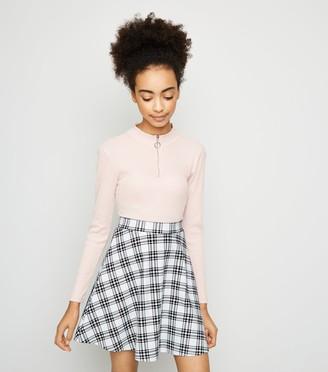 New Look Girls Check Skater Skirt
