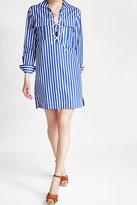 Polo Ralph Lauren Cotton Lace-Up Shirt Dress