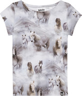 Molo Robinette horse print cotton top 4-14 years