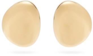 Marni Dome-drop Clip Earrings - Gold