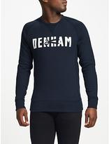 Denham Jeans Skaeri Sweatshirt, Dark Navy