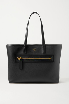 Tom Ford Textured-leather Tote - Black