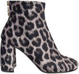 Stella McCartney Leopard Print Ankle Boots Shoes