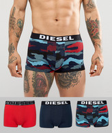 Diesel Shawn Trunks 3 Pack