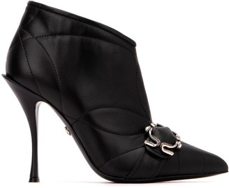 Dolce & Gabbana Devotion Ankle Booties