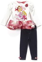 Children's Apparel Network Pink Palace Pet Top & Leggings - Toddler