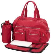 OiOi Carry-All Diaper Bag by Red Faux Lizard