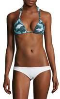 Mikoh Swimwear Printed Bikini Top