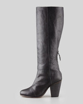 Rag and Bone Rag & Bone Newbury Leather Knee Boot, Black