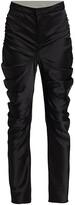 Thumbnail for your product : Alejandra Alonso Rojas Gathered Silk Satin Pants