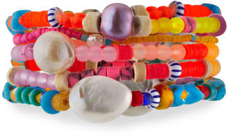Dannijo Coco Stretch Bracelets, Set of 5