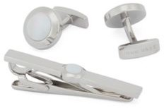 BOSS Accessory gift set with mother-of-pearl details