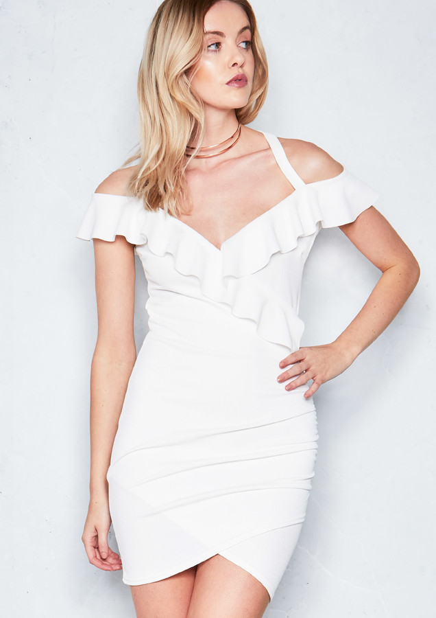bb18f759558e3 Cream Empire Dress - ShopStyle UK