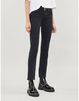 AGOLDE Toni straight mid-rise jeans