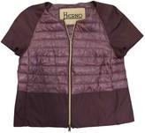 Herno Purple Coat for Women