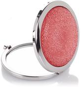 Signature Club A by Adrienne Pink Sparkle Magnifying Mirror Compact