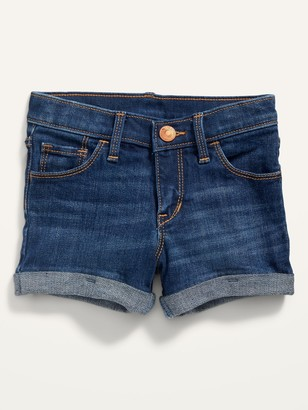 Old Navy Dark-Wash Jean Shorts for Toddler Girls