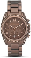 Michael Kors Women's Round Chocolate Brown Watch Dial, 39mm